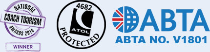 award winning, abta bonded and atol protected group travel